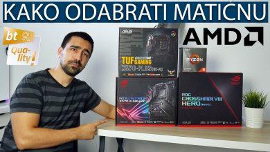 AMD matične ploče
